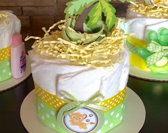 Lion King baby shower centerpieces, lion king baby shower centerpiece, lion king diaper cake
