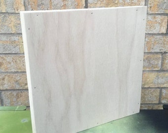 Square Wood Canvas - Blanks - Package of 4 - VARIOUS SIZES AVAILABLE
