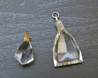 Crystal Pendant and Chain Necklace