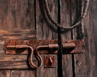 Study in Wood and Rust