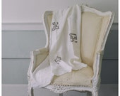 Mosaic Linen Blanket- Free Shipping to USA.