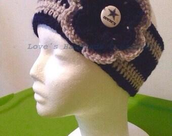 Crochet Dallas Cowboys Ear Warmer