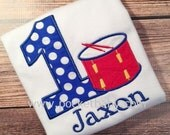 Personalized Snare Drum Birthday Shirt - Big Band Birthday Tee - Personalized Drummer Birthday Shirt - You Choose your Fabrics