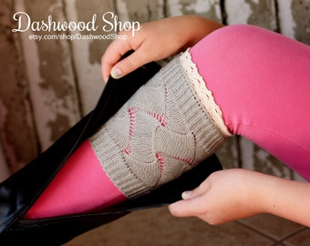 Textured Lace Boot Cuffs! 4 Colors