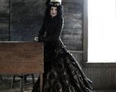 Deluxe Saloon Skirt Custom, Steampunk, Costumes