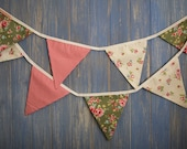 Classic Bunting. This is a gorgeous floral and spotty