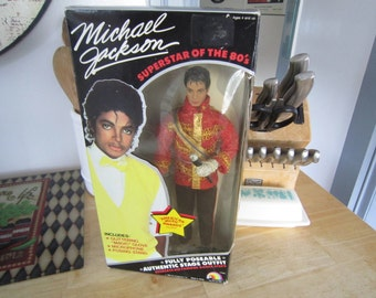 Michael Jackson Poseable Doll AMA Outfit