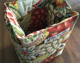removable padded camera insert // floral purse organizer insert // small dslr case // READY TO SHIP