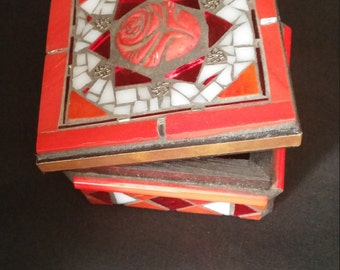 Wooden Mosaic Box