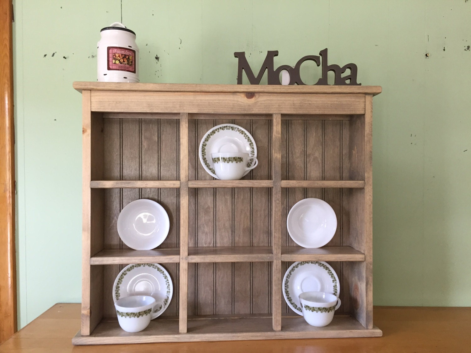 Tea Cup And Saucer Plate Rack And Kitchen Display Shelf 9