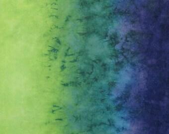 Hand Dyed Fabric Gradient - Abundance