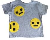 We Are Watching You! - Toddler Gray Shirt – Boys or Girls - Geek Gift