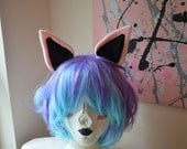 Two toned Cat Ears (customizable)