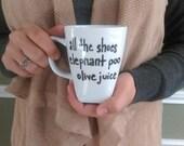 Mug - All the Shoes