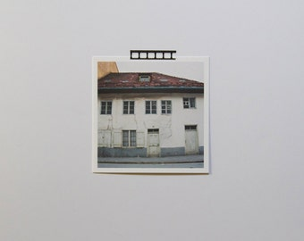 Architecture Photography, Old House Photo, Germany Art, Eco-Friendly Art, Wanderlust, Neutral Decor, Bad Tölz, Germany, House, 5x5 Print
