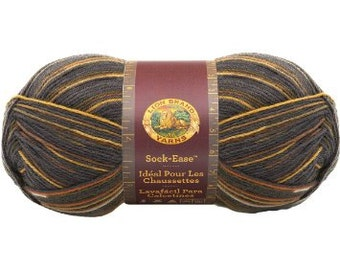 Lion Brand Sock-Ease Yarn in Toffee Color