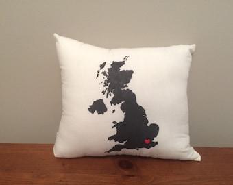 United Kingdom Pillow