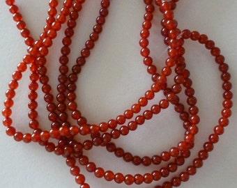 Carnelian 6mm Beads
