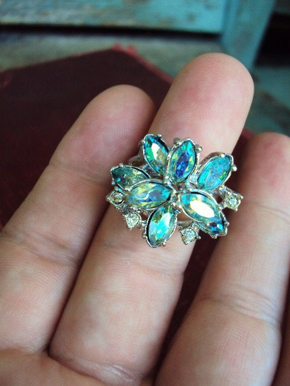 vintage cocktail ring park lane statement ring costume jewelry