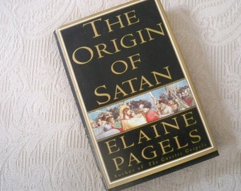 """Vintage """"The Origin of Satan"""" by Pagels 1995 First Edition Demonization"""