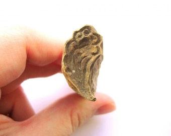 Flower Stamp Vintage Japanese Hand Carved Wood Stamp B43