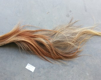 Sorrel  and Flaxen Horse Tail- Soft Tanned -Lot 160826-Z