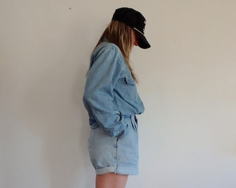 Jean High Wasited Shorts Vintage LEE