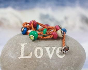 Red string, Wish bracelet, Evil eye bracelet, Luck bracelet, Sorority piece, Lucky Charm jewelry, wishing gift, kabbalah string, love