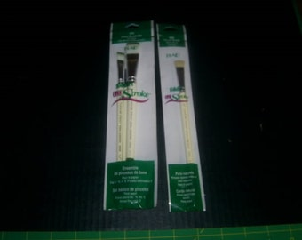 1854 (#16,#8,#2 Liner)  & 1855 (Scruffy) One Stroke Painting Paper Brushes