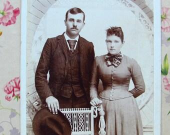 Vintage Hagedorn Photo of Sweethearts - Butler, Missouri