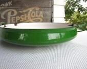 Vintage Dansk Enamel Green Paella Pan Quistgaard Kobenstyle 1HQ France