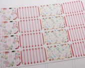 16 Half Box Stickers Christmas Planner Stickers RTS PS234