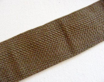 Vintage 1940's Webbing 1 11/16 Inch Army Green