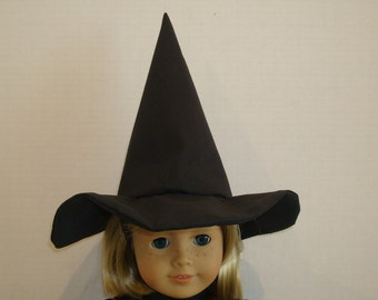 "18 Inch Doll Clothes/Witch Hat / Made to fit 18"" Girl Doll/READY TO SHIP"