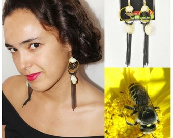 One of A Kind Vulture Earrings