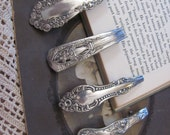 Beautiful Ornate Silver Plate Barrette Hair Clip 60mm back - Your Choice of Pattern (7A)