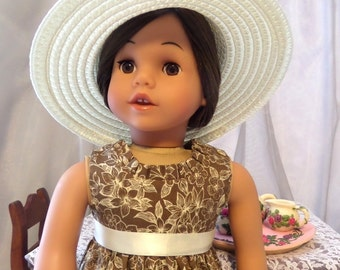 18 Inch Doll Clothes / Doll Dress / Dress / Doll Clothes / Doll Clothing / Doll Accessories / Fits American Girl Doll - 1011