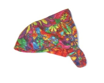Kaffe Fasset Print Head wrap Hippie Bohemian Tribal Festival Wide Headband