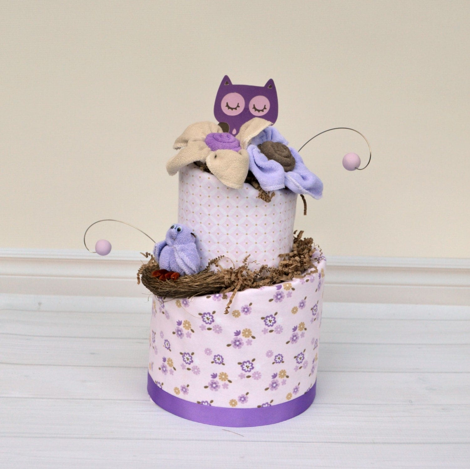 purple owl baby shower decorations il