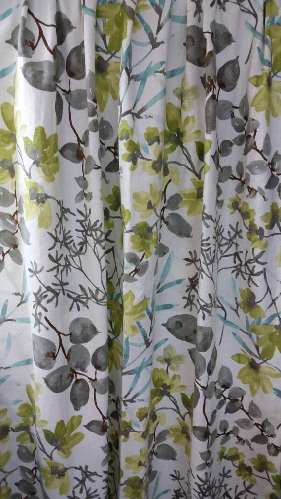 Items Similar To High End Designer Fabric Shower Curtain Braemore Gazebo 48 72 84 90