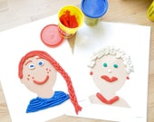 People Play Dough Pads - Instant Printable