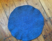 Cat Mat/Cat Bed - handmade felt - Grey or white + choice of colours