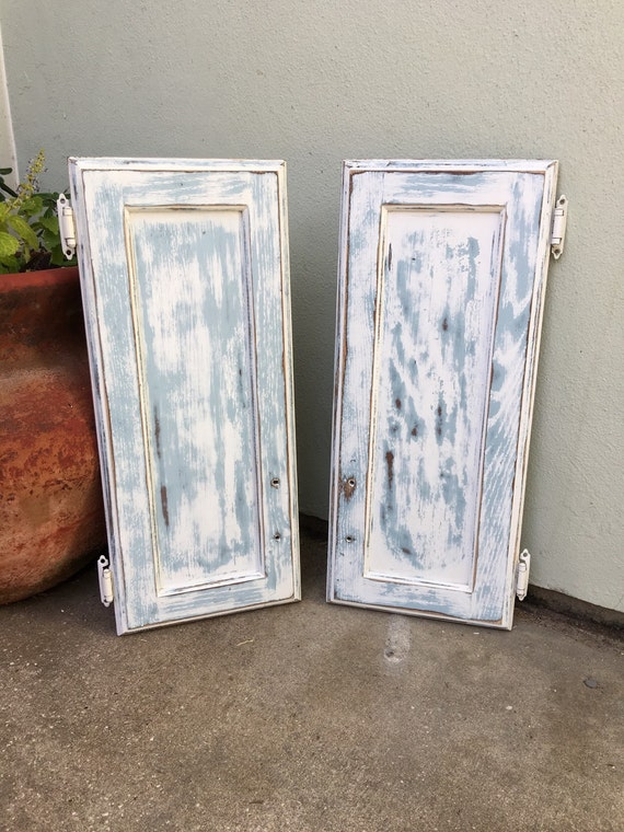 Upcycled Cabinet Door 22 1 2 X 9 1 2 Country Style By