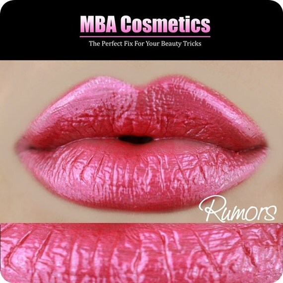 Lip Gloss-Sugar Babies Jojoba Lip Glaze-Rumors-Pink Sugar Rush Flavor