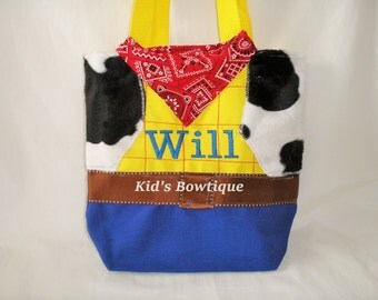 Personalized Cowboy Halloween Bag - add to your Western Cowboy Halloween Costume