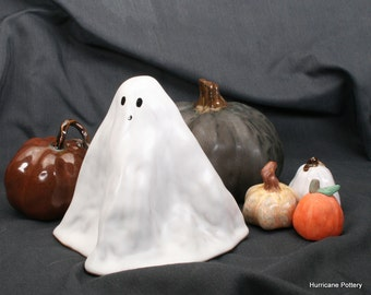 Ceramic Ghost for Holiday Decorating