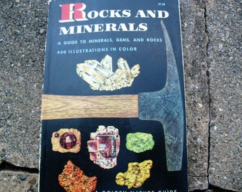 Vintage Golden Nature Guide Rocks and Minerals A Guide to Minerals Gems and Rocks
