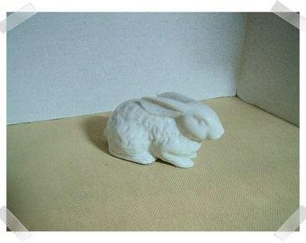 Ceramic White Rabbit Figure/Vintage*