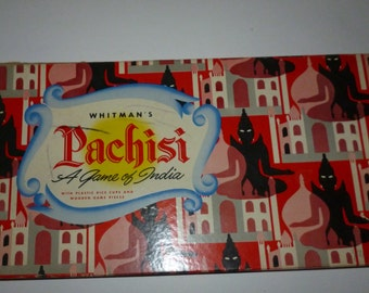 Vintage Pachisi India Family Board Game
