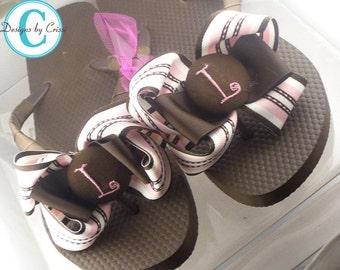 Cute Persoanlized Flip Flops. You Design Your Custom Flip Flops!